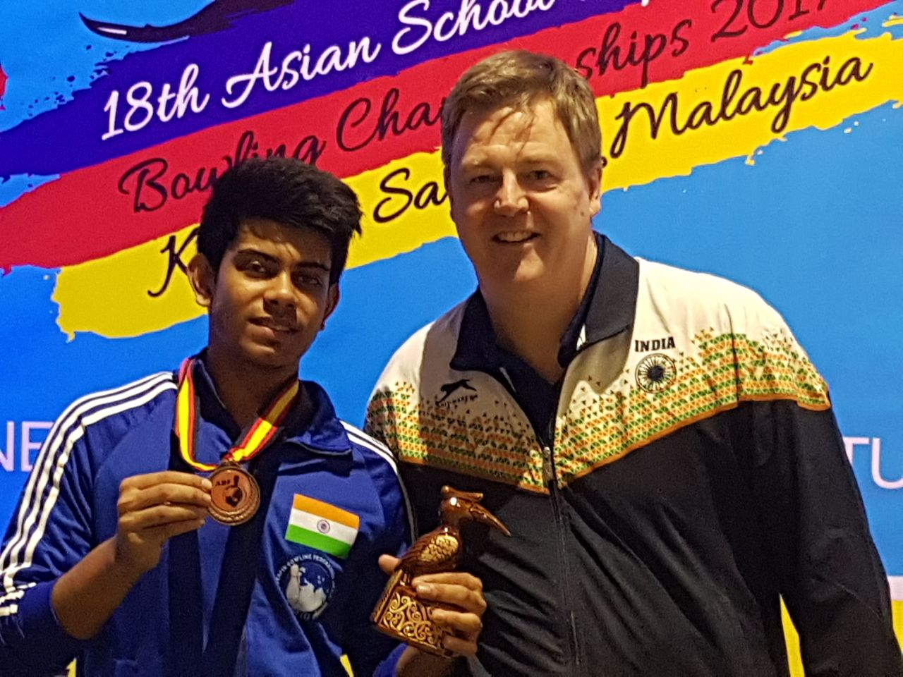 Shoumick Datta wins Bronze Medal