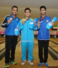 Shabbir Dhankot wins historical Silver Medal at Asian Bowling Championship 2015